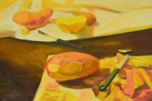 005. Krumpli hámozás / Peeling potatoes
