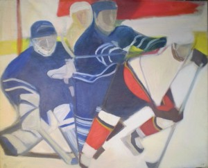 001. Hokisok I. / Hockey players I.