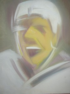 012. Hokis portré / Portrait of a hockey player