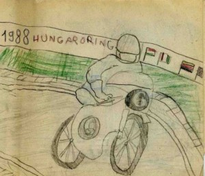 GYEREKRAJZAIM AZ 1980-as ÉVEKBŐL / CHILDHOOD DRAWINGS FROM THE 80's