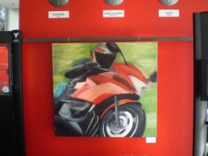 A Moto c. festményem